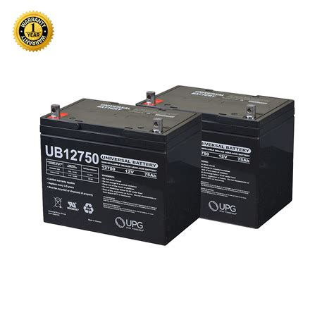 24 volt group 24 75 ah battery pack for the jazzy 1120