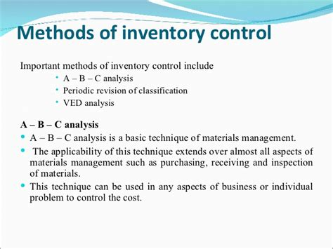 material management notes pdf