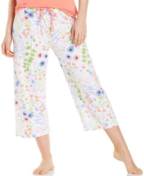 pajamas cookie hue floral pajama in white lyst