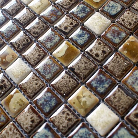 kitchen mosaic wall tiles porcelain tile snowflake style mosaic design 5416