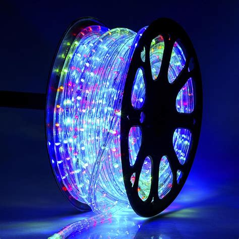 150' Led Rope Light 110v 2wire Party Home Christmas