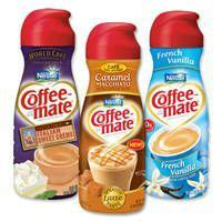 ** not a source of lactose. Print a coupon for $1 off two Nestle Coffee-Mate Creamers, 32 oz. or larger   Coffee mate ...