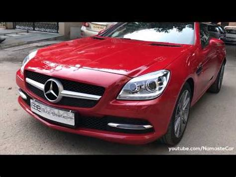 Mercedes benz launched the slk 350 roadster in new delhi today, priced at rs. Times Car: Mercedes-Benz SLK 350 BlueEFFICIENCY hindi review by Namaste Car