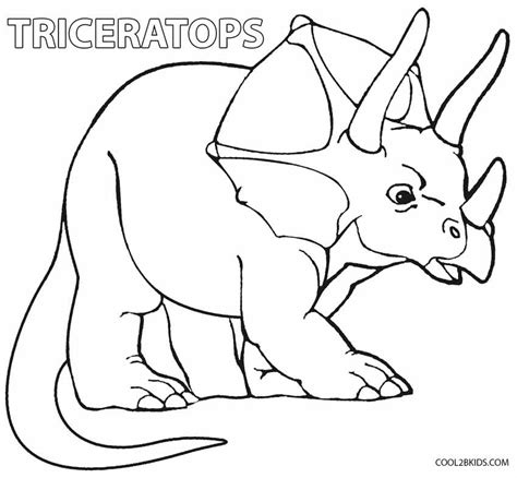 printable dinosaur coloring pages  kids