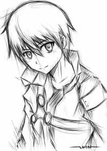Drawing Sketch Anime Characters