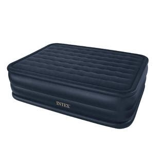 kmart air mattress intex raised downy bed with built in electric