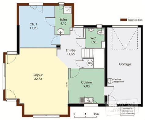 maison bioclimatique 1 dé du plan de maison