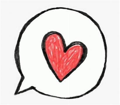 Heart Drawing Transparent Bubbles Speech Pngitem
