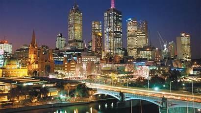 Melbourne Australia Stadt Aussicht Tolle