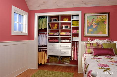 Simple Bedroom Closet Ideas by Closet Organization By Easy Closets