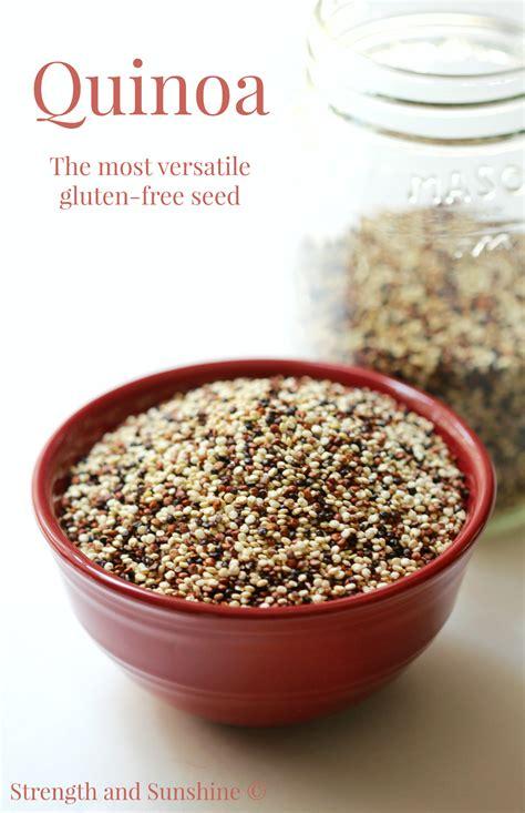 Quinoa The Most Versatile Glutenfree Seed
