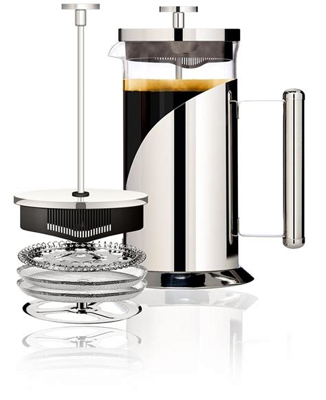 French press coffee has somewhat of a cult following. Amazon Lightning Deal: Cafe Du Chateau 34oz French Press Coffee Maker $15.36! (Extra 5% Discount ...