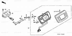 Honda Atv 2006 Oem Parts Diagram For Meter