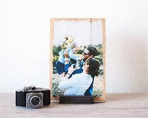 Foto Auf Holz : standfu f r lumberprint holzdruck foto auf holz ~ Watch28wear.com Haus und Dekorationen