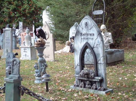 Diy Halloween Tombstones brewster yard haunt halloween 07