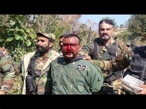 indian pilot captured  pakistani army pakistan india