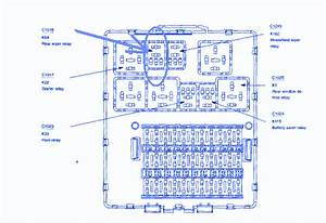 Ford Focus 2009 Main Engine Fuse Box  Block Circuit Breaker Diagram  U00bb Carfusebox