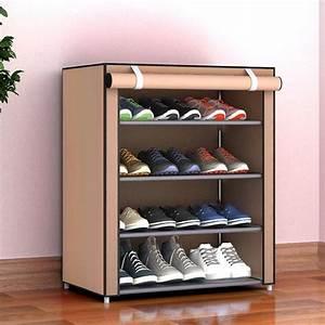 Dustproof Large Size Non Woven Fabric Shoes Rack Shoes