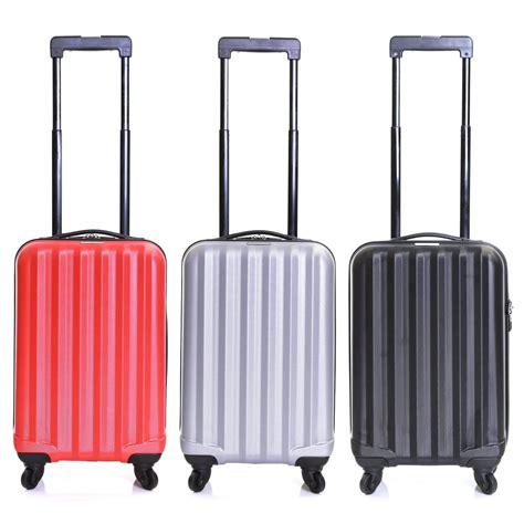 cabin luggage suitcase karabar ryanair cabin approved spinner trolley