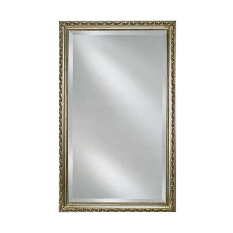 afina basix 16 quot mirrored medicine cabinet antique silver