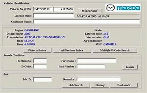 Mazda Asia 2012 Lhd Spare Parts Catalog Download