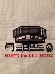 My Sweet Home : finally finished my pok mon home sweet home crossstitch ~ Markanthonyermac.com Haus und Dekorationen