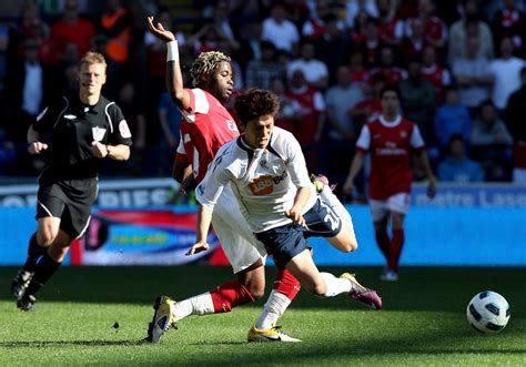Get updated with us about former midfielder for the bolton wanderers from 2008 to 2012. Bolton Wanderers v Arsenal - Premier League - Zimbio