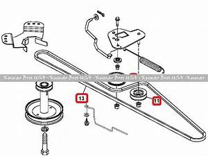 35 John Deere Lx277 Drive Belt Diagram