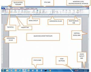 Know The Parts And Functions Of Microsoft Office Word 2007