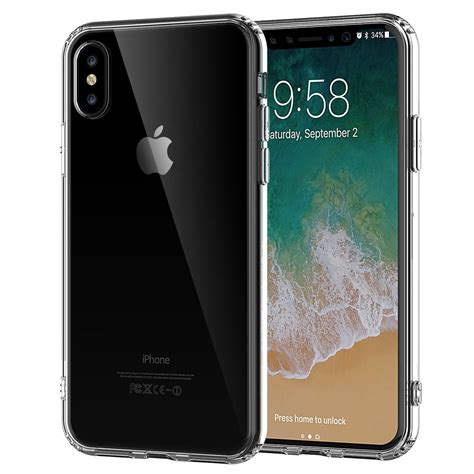 clear iphone cases iphone x clear tpu rubber arcylic silicone