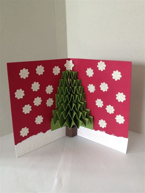 Janet's Crafts 3d Christmas Card