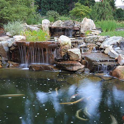 pictures of ponds with waterfalls photo gallery of swimming pools ponds fountains waterfalls spas surrounds landscape