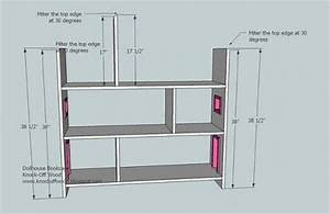 dollhouse bookcase woodworking plans - WoodShop Plans
