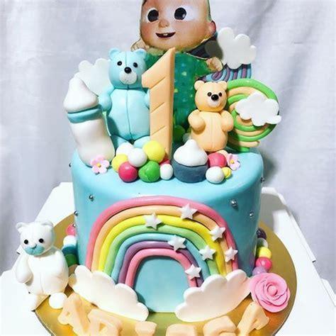 "In today's video will be making a cocomelon birthday cake. 5"" Fondant Cocomelon Cake in Vanilla & Chocolate Swirl ..."