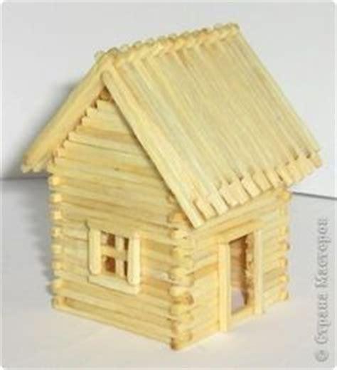 popsicle stick log cabin vbs  popsicle stick