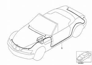 Bmw Z3 Main Wiring Harness  System  Electrical