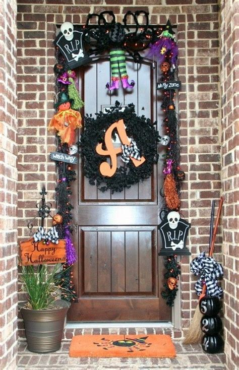halloween decor ideas   front door craft projects   fan page