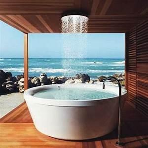 Badewanne Für Draußen : badewanne mit duschzone tolle beispiele ~ Michelbontemps.com Haus und Dekorationen