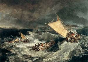 The relationship of Nature and Man in Turner's sea-scenes ...
