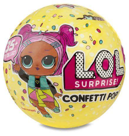 lol surprise confetti pop series   walmart canada