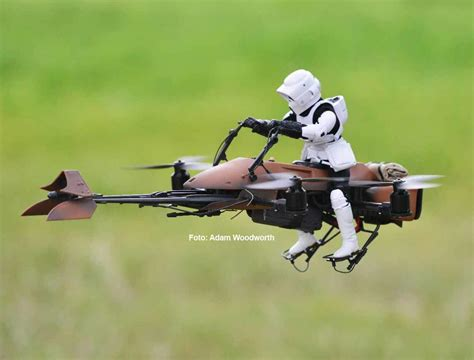 star wars drohne imperiale speeder bike drohne fpv