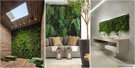 giardino interno casa giardino verticale interno 25 idee per pareti verdi in