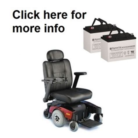 batteries for all invacare pronto power wheelchairs