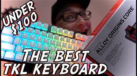 hyperx alloy origins core tkl keyboard review hyperx pbt keycap install youtube