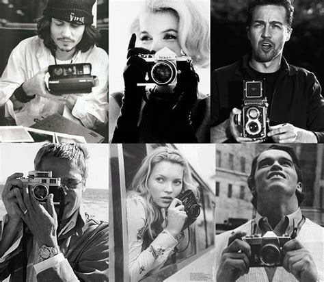Photos Of Famous People With Cameras