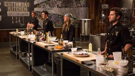 food network cutthroat kitchen tv weekly now 16 culinary all compete on