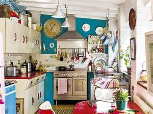 how to give your old kitchen a new look on a budget With kitchen cabinets lowes with quirky wall art