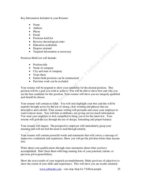 Best Adjectives To Use In A Resume by Best Adjectives To Use In A Resume