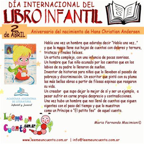 Hoy imágenes celebremos el Día Mundial del Libro Infantil ...