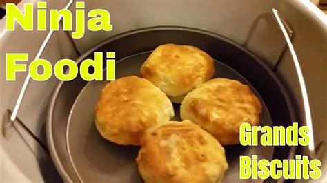 ninja foodi frozen biscuits recipes grands pan pillsbury air fryer bread nuwave biscuit cookies making fish open